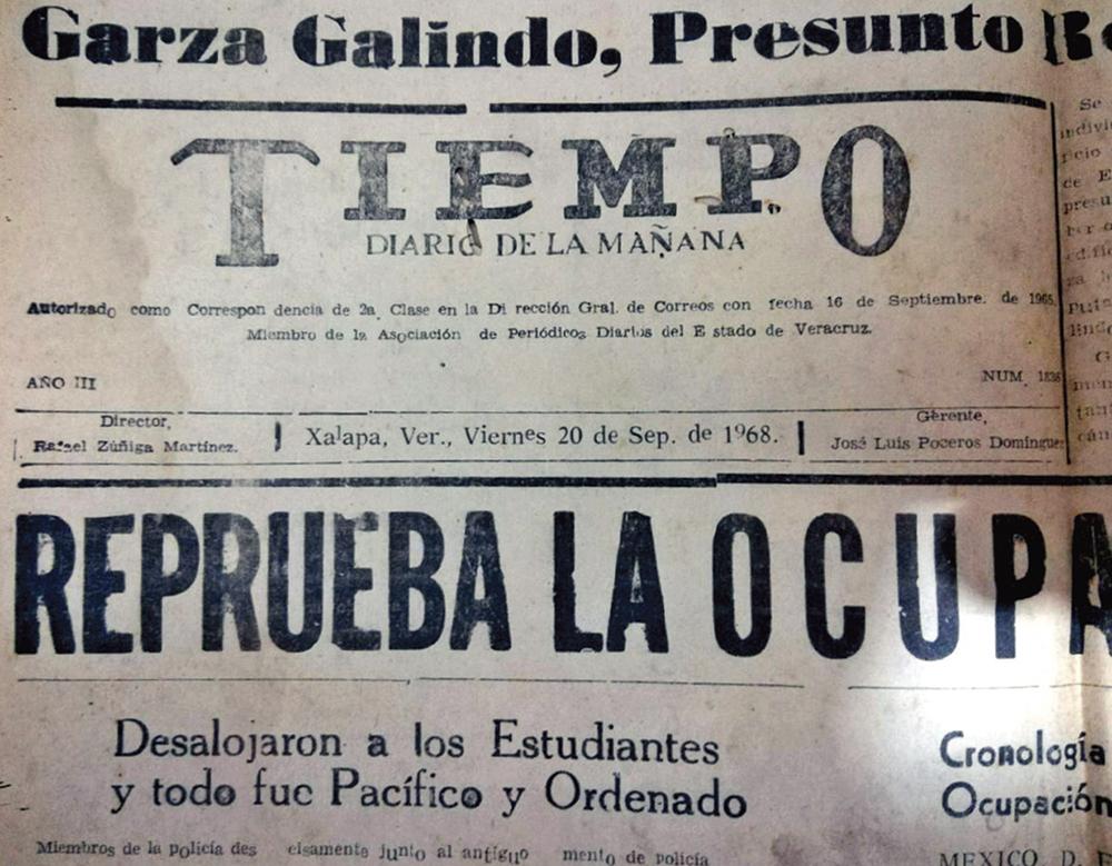 Reportes de la época resaltan la detención. Arias fue a la cárcel, la primera vez, el 20 de septiembre. Foto: Especial