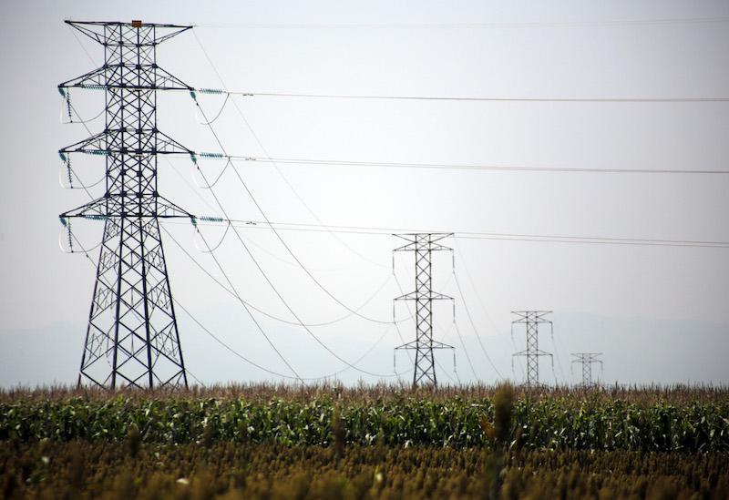 Termoeléctrica de la Comisión Federal de Electricidad en la comunidad de Huexca. FOTO: MARGARITO PÉREZ RETANA /CUARTOSCURO.COM