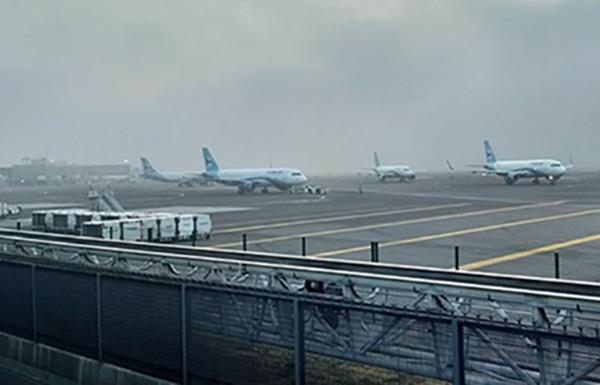 El Aeropuerto Internacional de la Ciudad de México no suspenderá vuelos. FOTO: CUARTOSCURO