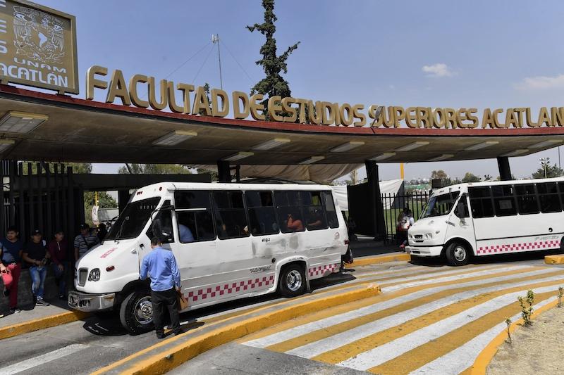 FES Acatlán se va a paro por 24 horas. Foto: Edgar López / Heraldo de México
