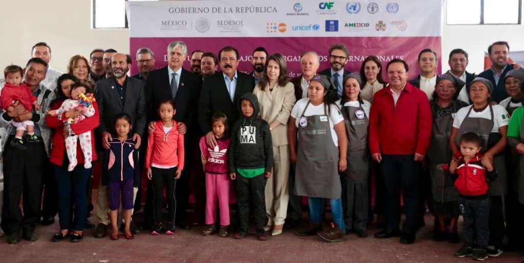 Pérez Magaña destacó que un ejemplo colaboración es el apoyo financiero.
