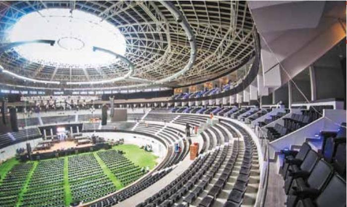 SUSTITUTO. El Coliseo Centenario realiza conciertos con artistas de renombre. Foto: Especial