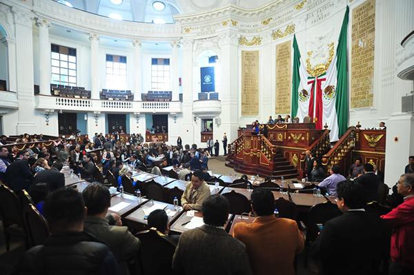 Morena tendrá la mayoría en el Congreso capitalino. FOTO: @Congreso_CdMex
