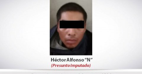 Fue aprehendido por agentes de la Policía Investigadora en calles de la colonia Valle de San Nicolás, en Zapopan. FOTO: ESPECIAL