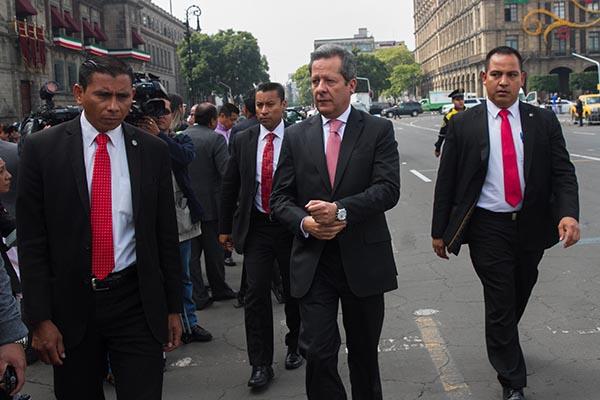 El vocero de la Presidencia, Eduardo Sánchez. FOTO: CUARTOSCURO