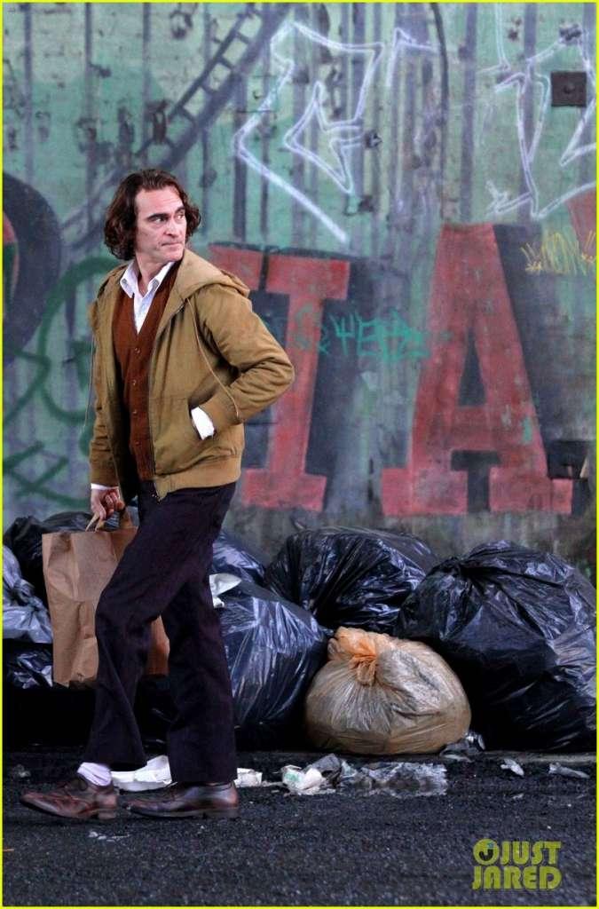 "Así se ve Joaquin Phoenix como el nuevo ""Joker"".Foto: justjared.com"