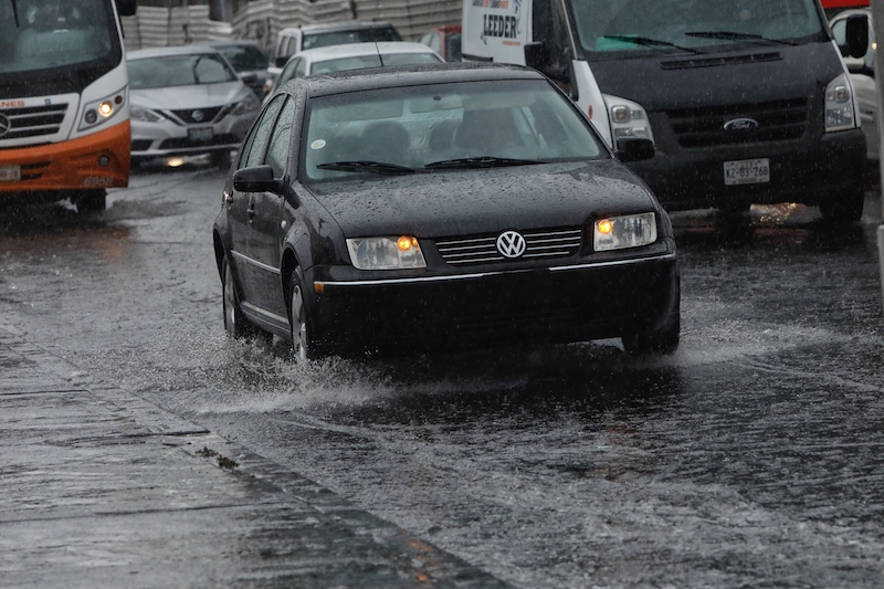 Alerta amarilla por lluvias en siete delegaciones de la CDMX. Foto: El Heraldo de México.