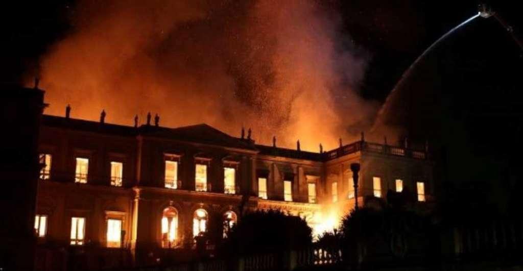 PIEZAS. El Museo Nacional no ha podido cuantificar las pérdidas. Foto: EFE