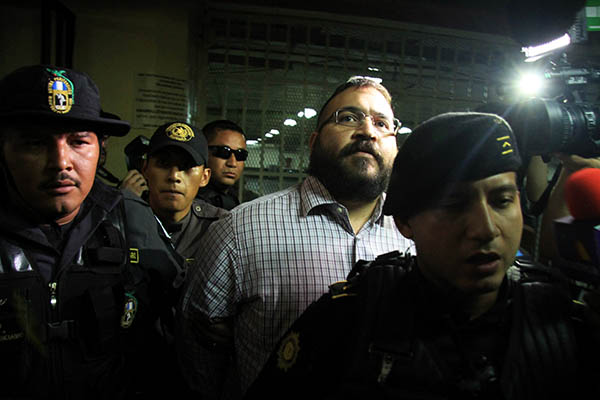 Javier Duarte de Ochoa, ex gobernador de Veracruz. FOTO: CUARTOSCURO