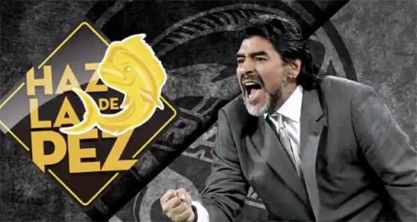 Confirman a Diego Armando Maradona como técnico de Dorados de Sinaloa