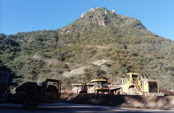 No se ha dado reporte oficial de las causas de derrumbe en la mina Guadalupe Foto: Google Maps