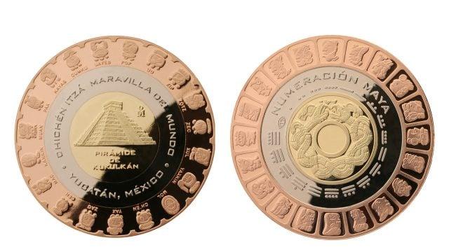 La moneda tiene un costo de 400 pesos, o 550 pesos si se adquiere con estuche. Foto: Casa de la Moneda de México