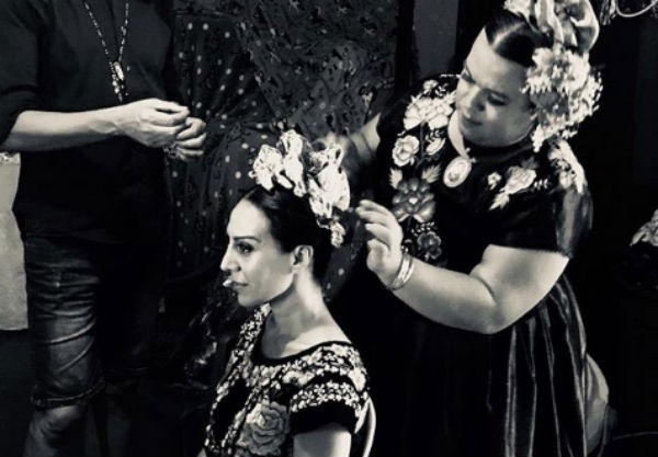 La cantante publicó una foto de su visita a las muxes en el estado mexicano de Oaxaca Foto: Instagram Mónica Naranjo