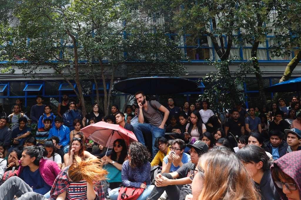 Anuncian nuevo paro de 48 horas en la UNAM. Foto: Archivo Nayeli Cruz / Heraldo de México.