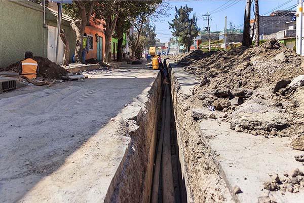 Las autoridades estatales sustituirán de 97.8 kilómetros de redes de distribución. FOTO: ESPECIAL
