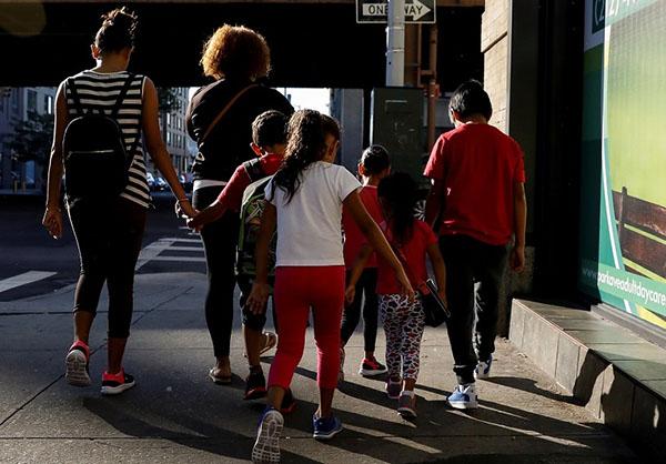 La administración ha dicho que más de 2.300 niños migrantes fueron separados de sus padres. FOTO: REUTERS