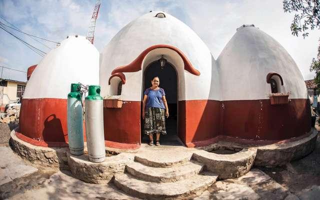 Teresa recuperó su casa y ahora retoma su vida. FOTOS: JACCIEL MORALES