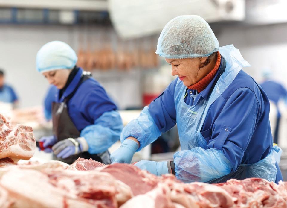 El distintivo aumenta la confianza de los consumidores porque lo asocian a una carne confiable. FOTO: ESPECIAL