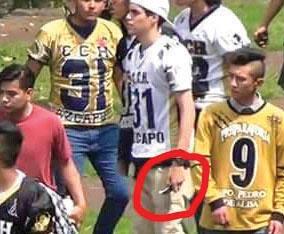 El adolescente de 17 años de edad fue detenido este miércoles en Pachuca. FOTO: ESPECIAL
