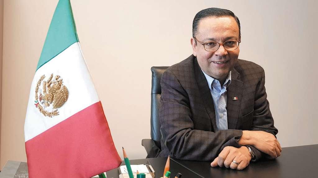 El senador Germán Martínez presentó una iniciativa a favor de la comunidad gay. FOTO: RICARDO ORTIZ