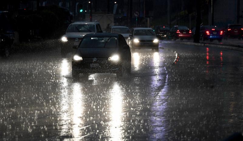 Lluvia en la CDMX / Foto Pablo Salazar Solís / El Heraldo de México