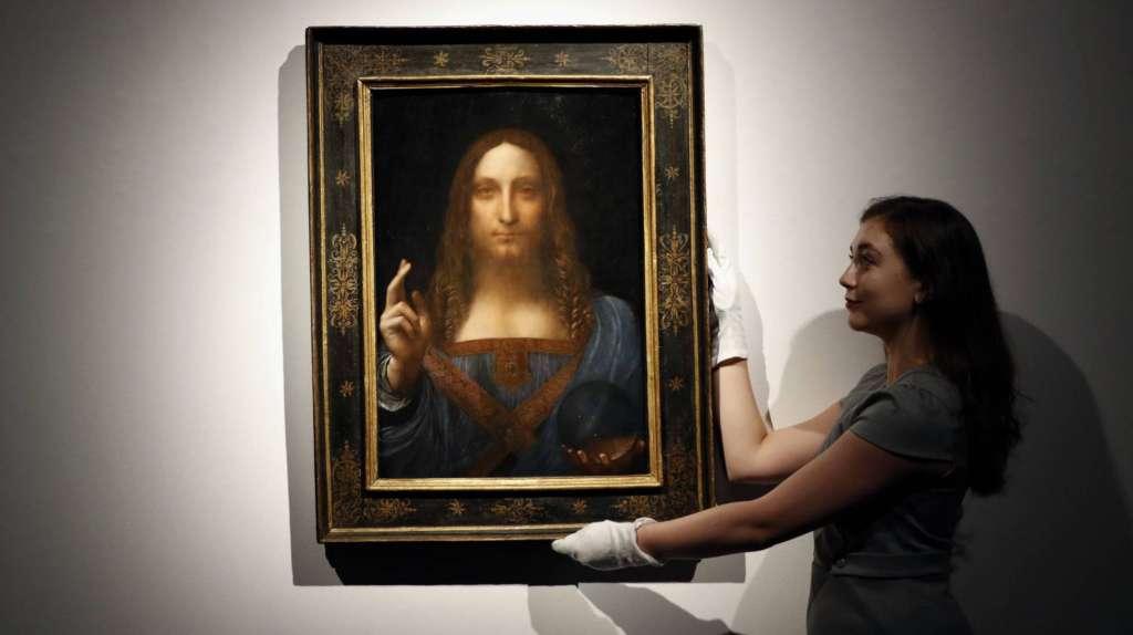 El Louvre de Abu Dabi anunció en su momento que el departamento de Cultura y Turismo había comprado la obra. Foto: Especial