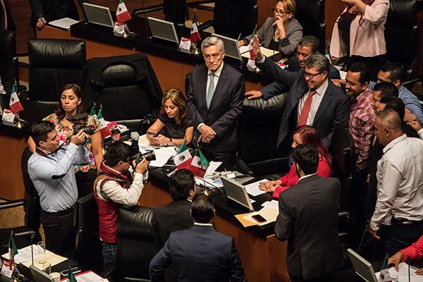 """Martí Batres detalló que la propuesta fue parte de una """"reflexión común y unánime"""". FOTO: CUARTOSCURO"""
