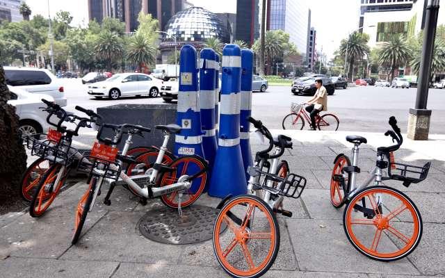Resultado de imagen para bicicletas sin anclaje