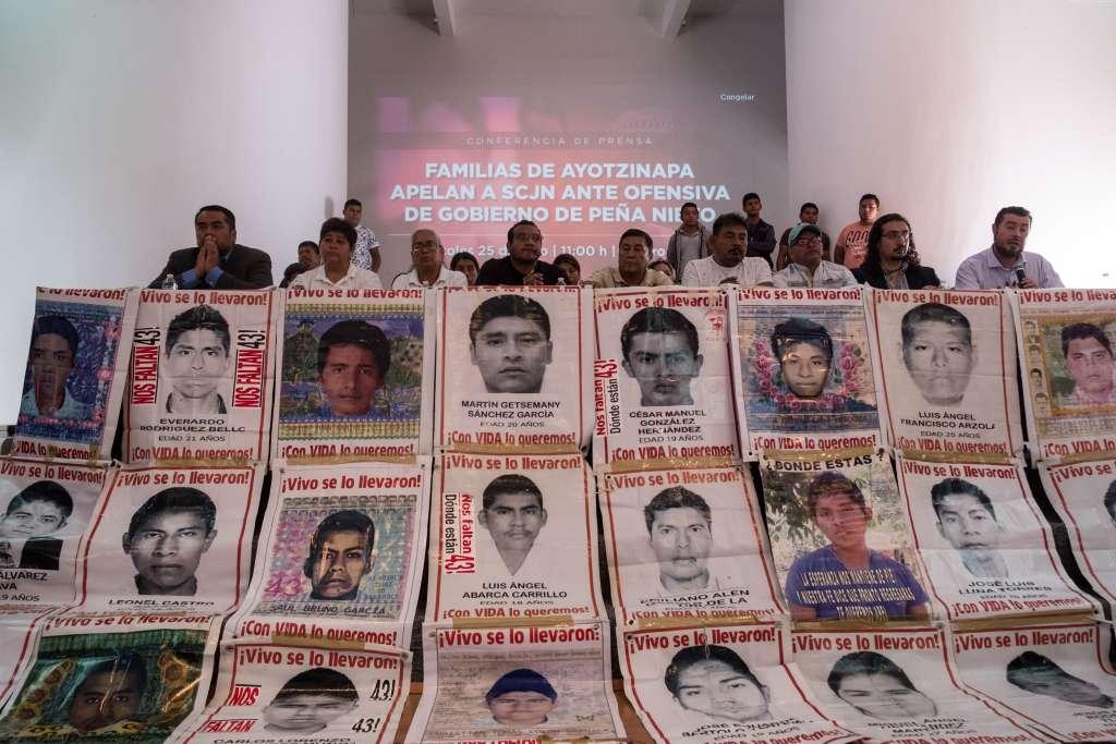 Padres de las víctimas y organismos internacionales denunciaron irregularidades en las pesquisas. FOTO: ARCHIVO/ CUARTOSCURO