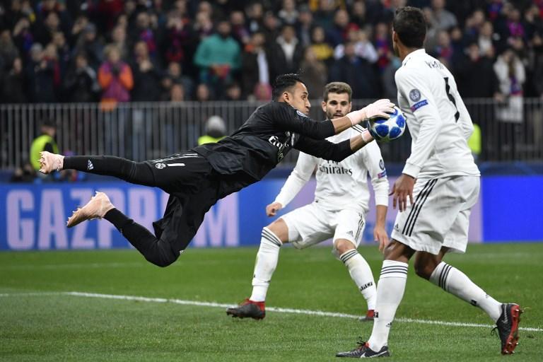 Real Madrid cayó ante el CSKA en la #ChampionsLeague FOTO: AFP