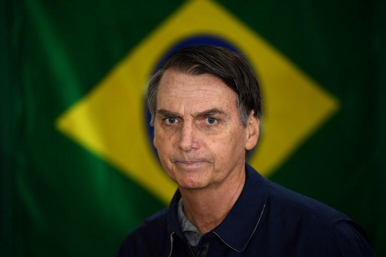 La probable elección de Jair Bolsonaro augura tiempos tensos y desafiantes para la prensa en Brasil. Foto: AFP