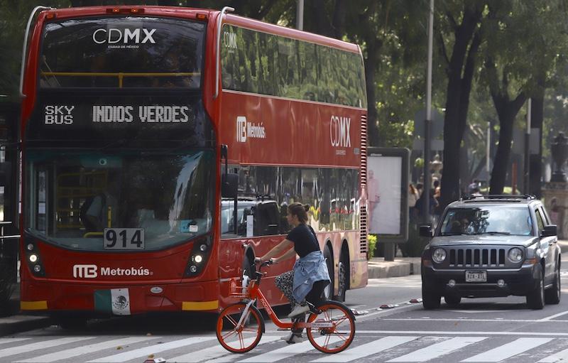 10 ciudades donde la bicicleta supera la distancia que alcanza un auto en horas pico. Foto: Víctor Gahbler / El Heraldo de México