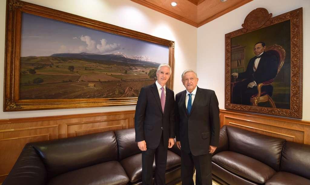 López Obrador abundó que con esta convocatoria se busca fortalecer a las corporaciones de seguridad. FOTO: NOTIMEX