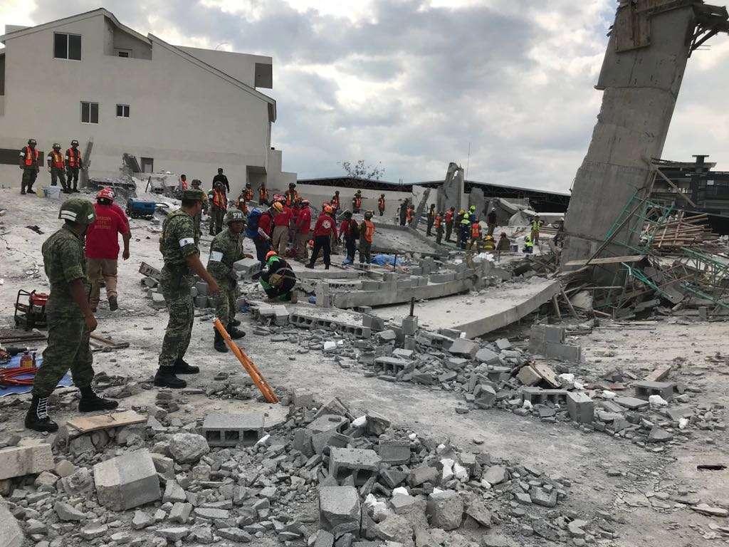 El origen del colapsó de esa construcción se debió a diversas fallas en su estructura. FOTO: ESPECIAL