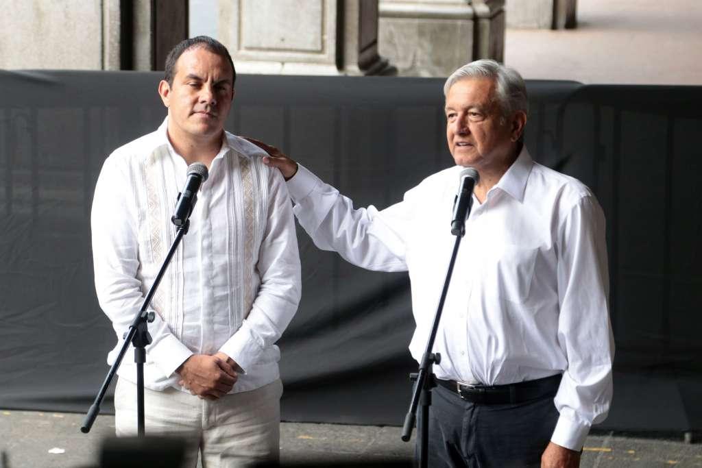 El presidente electo se reunió con Cuauhtémoc Blanco