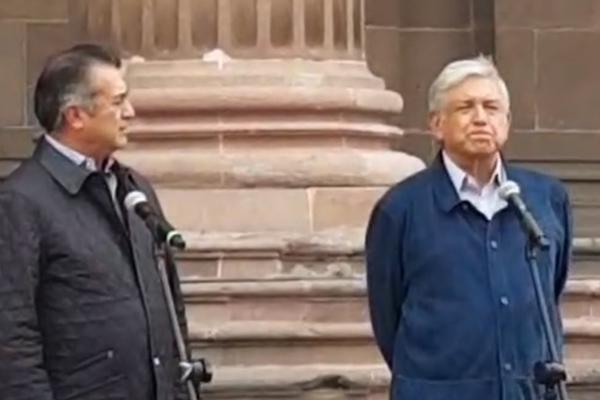López Obrador da mensaje tras reunión con gobernador de NL: EN VIVO