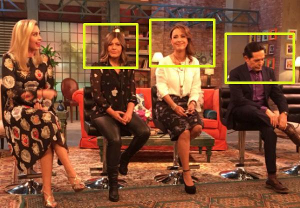 Los cuatro conductores y la productora de este programa, son ex miembros de Ventaneando