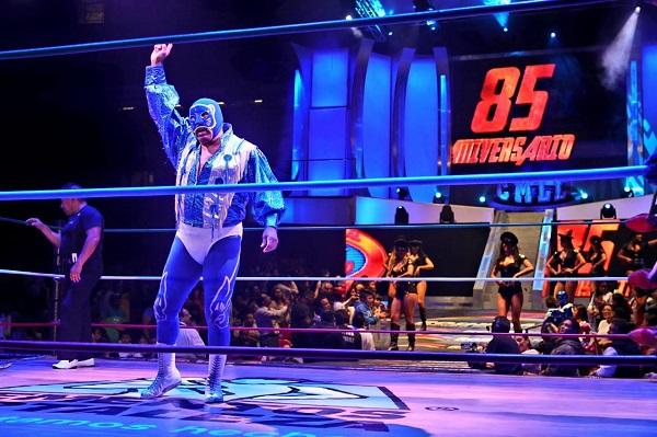 Merecido homenaje se le dará al maestro lagunero Blue Panther éste viernes en la Arena México. Foto: Especial