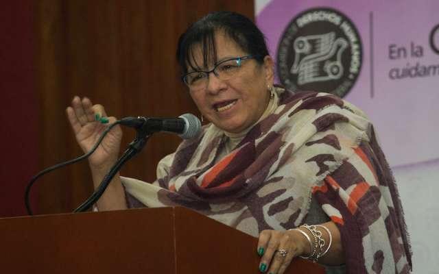 Nashieli Ramírez Hernández, presidenta de la Comisión de Derechos Humanos del Distrito Federal.  FOTO: ISAAC ESQUIVEL /CUARTOSCURO.COM