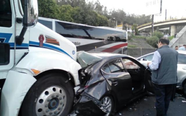 Las autoridades pidieron a los automovilistas tomar precauciones. FOTO: ESPECIAL