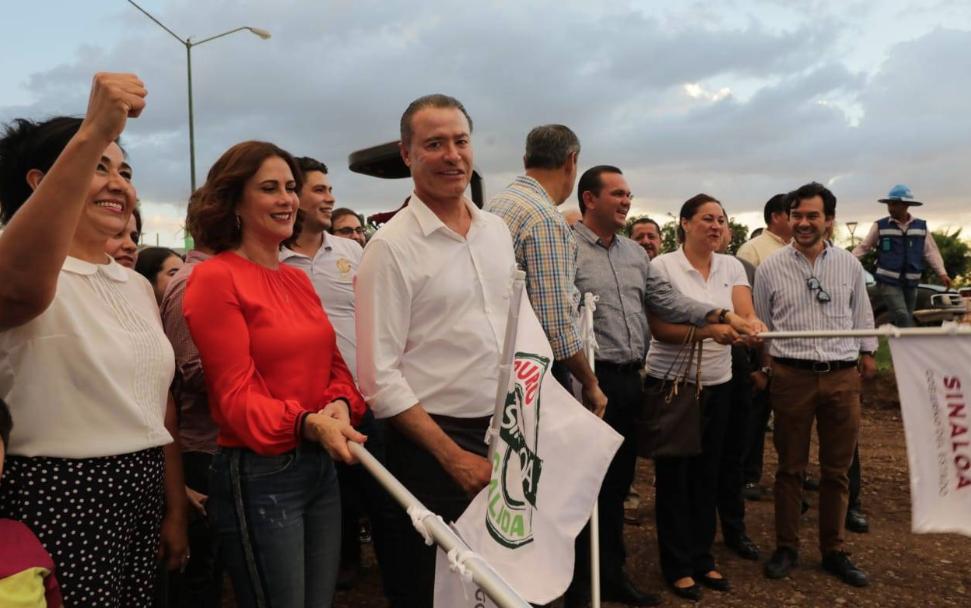 El gobernador destacó la importancia de construir obras de infraestructura vial de gran calado, que estén a la altura de la gran ciudad que es Culiacán