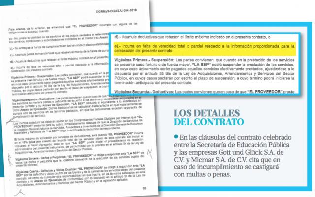 Sin IMSS, outsourcing de la SEP. / Heraldo de México
