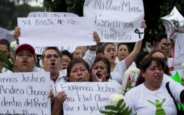 Hace días, pobladores exigieron justicia por los feminicidios