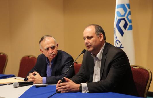 Romo Garza manifestó que varias Casas de Bolsa han ajustado al alza sus expectativas para el desempeño del PIB. FOTO: ESPECIAL