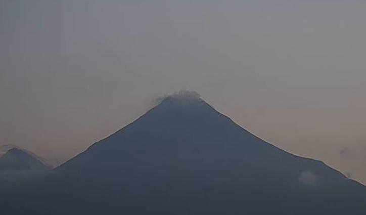 Mira en vivo la actividad del Volcán de Colima