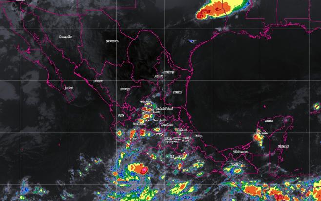 Debido a las tormentas en gran parte del país, el SMN y la Conagua pidieron a la población mantenerse informada. FOTO: ESPECIAL