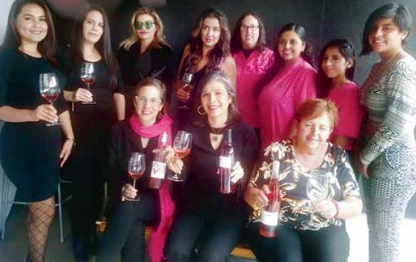 Vino rosado es bandera anticáncer. Foto: Alma Morales.