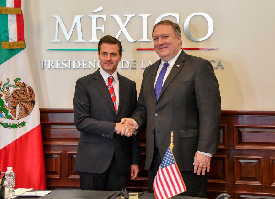 México siempre ha sido promotor de una política migratoria segura: Peña Nieto