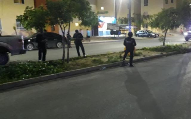 Elementos policiacos fueron recibidos a balazos, pero repelieron la agresión