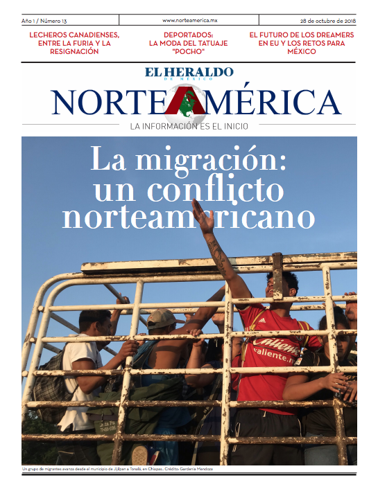Heraldo de México Edición Norteamérica 28 de Octubre